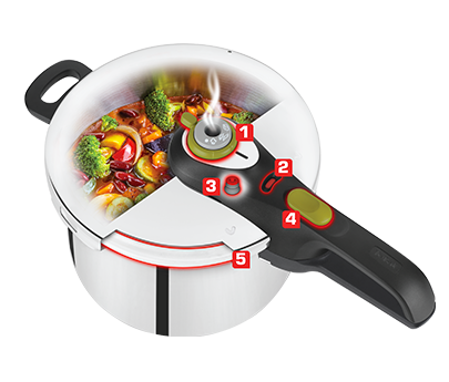 Tefal Secure 5 Neo 7 Litres Pressure Cooker