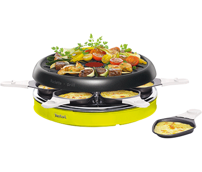 tefal raclette colormania re128o12. Black Bedroom Furniture Sets. Home Design Ideas