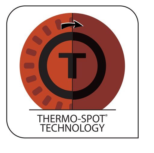 Thermospot technology symbol