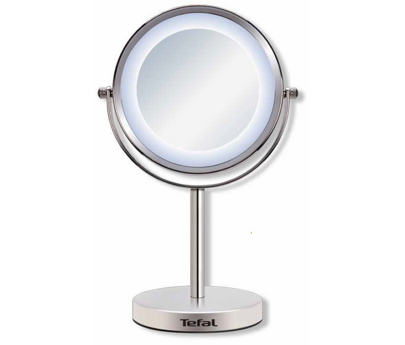 Tefal lighted mirror mr4015f0 for Miroir grossissant lumineux x10