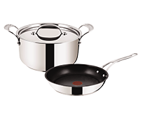 Jamie Oliver Tefal Stainless Steel Professional Series