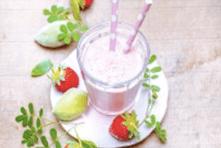 Milkshake healthy recipe