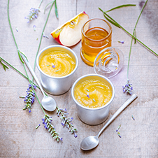 apple and lavender honey compote recipe
