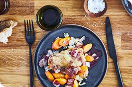 receta pollo al vino