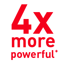 4x more powerful