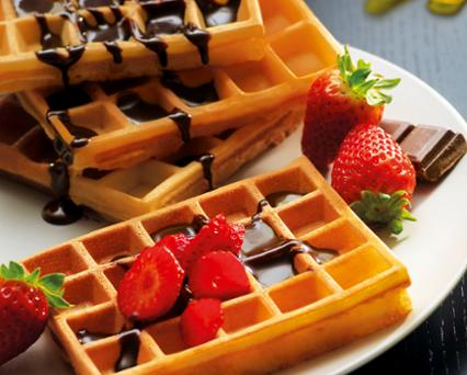 Traditional waffles