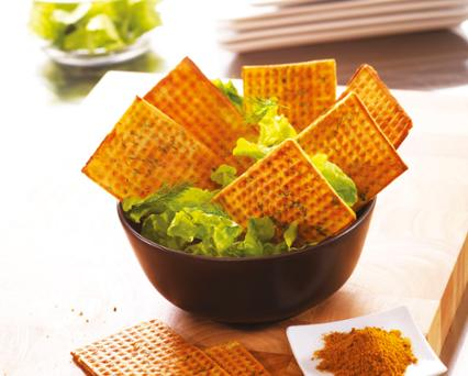 Curried wafers