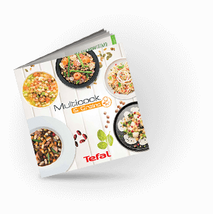 Tefal Multicook & Grains chef recipe book