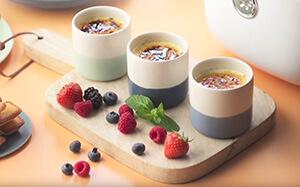 Celebratory vanilla yoghurts recipe with Tefal Multicook & Grains