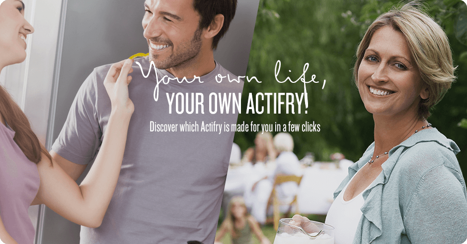 Your own life, your own actifry! Discover which Actifry is made for you in a few clicks